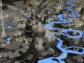 Interactive model of Moscow for Inty ++